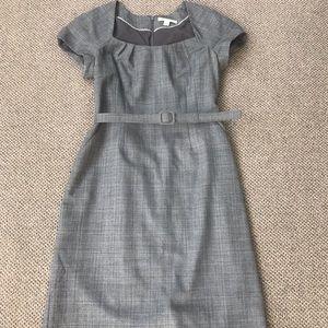 Grey tailored dress